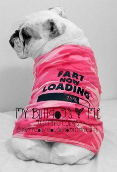 Card 26 / Blowout English Bulldog por BulldogGreetingCards en Etsy