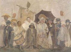 Fernand Pelez, La Vachalcade, 1896. Coll. Petit Palais © Petit Palais / Roger-Viollet