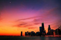 amazing chicago skylines