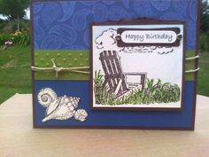 Beach Birthday by chendrickson - Cards and Paper Crafts at Splitcoaststampers