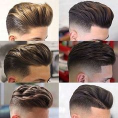Important Style Short Back And Side Fade Haircut - Hair trends come and go each season, but there is a set of cuts that have proven to stand the test and Undercut Hairstyles, Hairstyles Haircuts, Undercut Pompadour, Medium Hair Styles, Short Hair Styles, Mens Hair Colour, Hair Color, Mens Medium Length Hairstyles, Gents Hair Style