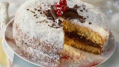 Schoko-Kokos-Torte