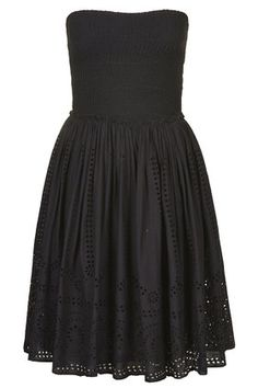 Ruched Bandeau Dress