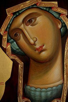 Byzantine Icons, Art Icon, Orthodox Icons, Blessed Mother, Christian Art, Religious Art, Madonna, Princess Zelda, Artwork