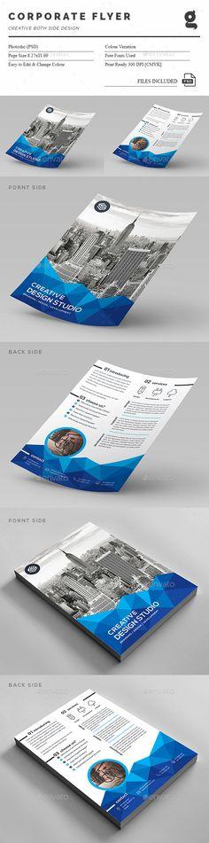 Contemporary Flyer Template Design Pinterest Flyer template - contemporary flyer