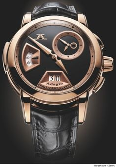 We all know I'm obsessed with rose gold, especially on watches, but I would love this on my boyfriend!