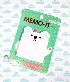Ecovers Kawaii Animal Chat Panda Motif planificateur Memo Sticky Notes papier autocollant
