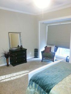 Bedroom with double pane windows. #forsale #condo #houstoncondos #houstonrealestate #realestate #bedroom