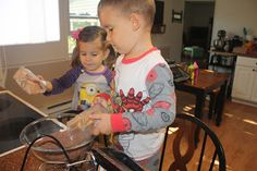 Our Homeschool Journey: Day #2: A Little Bit of Home Economics