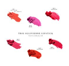 A lipstick collection by J.Crew's Beauty guru, Troi Ollivierre! #need
