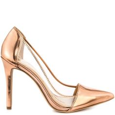 c1ff0866e Calkins - Rose Gold Liq Met by Jessica Simpson Gold Everything, Sexy Heels,  Stiletto