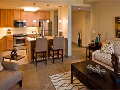 City Creek one bedroom. $1,169.00 This is beautiful! Not cheap but beautiful.
