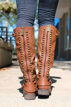 Studded Riding Boots | uoionline.com: Women's Clothing Boutique