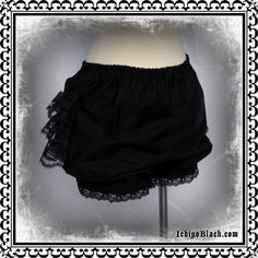Micro mini bloomers CHOOSE YOUR COLOR by ichigoblack on Etsy https://www.etsy.com/listing/57053472/micro-mini-bloomers-choose-your-color
