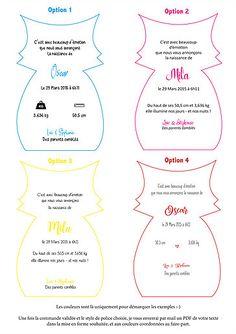 Faire-part de naissance ou Baptême - invitation anniversaire - Renard Diy Cards And Envelopes, Diy Paper, Paper Crafts, Diy Sewing Projects, Felt Diy, Craft Work, Babyshower, Kindergarten, Scrapbooking