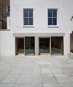 Cohen House London United Kingdom Architect Duggan Morris Architects Ltd 2012 View from garden showi