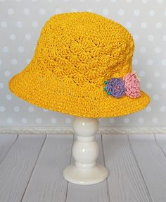Hey, I found this really awesome Etsy listing at https://www.etsy.com/uk/listing/598276465/summer-hat-girls-yellow-beach-sun-hat