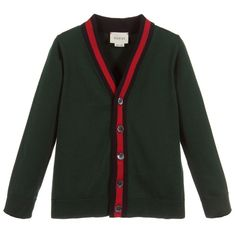 Gucci @Childrensalon formal green cardigan #green #gucci #fashion #style