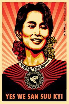 Pour en savoir plus sur la célèbre birmane prix Nobel de la paix