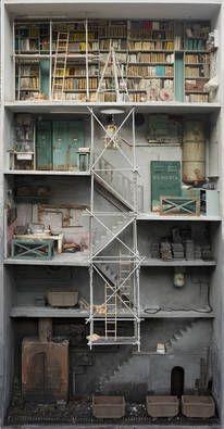 CJWHO ™ (Miniature libraries of Marc Giai Miniet | via ...) — Designspiration
