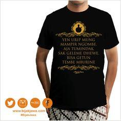 OPEN order Tshirt bijak jawa 119 IDR