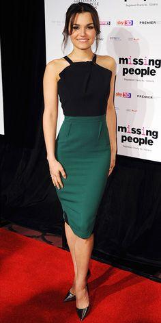 Samantha Barks elegante y sin complicaciones.