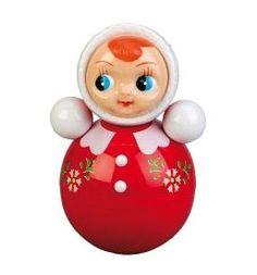 Tuimelaar pop- girl groot rood