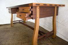 Sulok Sulatan Working desk - by Benji Reyes @ LumberJocks.com ~ woodworking community
