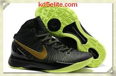 info for 8a4fa aed64 Nike Zoom Hyperdunk 2012 Elite Black Gold Volt 511369 009 Blake Griffin  Shoes, Green Basketball