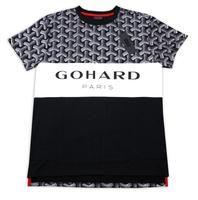 Men's Go Hard Paris T-Shirt Men's Graphic Shirts - Arno.