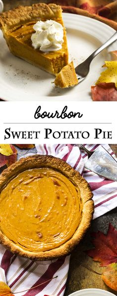 Baked sweet potatoes, cream, spices, and a dollop of bourbon come ...