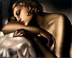 La dormeuse-tamara de lempicka