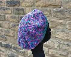 Simply Circles Hat pattern by Woolly Thoughts