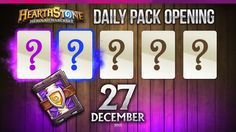 1 Epic & 1 Rare Hearthstone Cards! #Hearthstone #Packs Opening Daily, De...