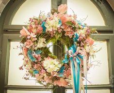 Floral Wreath, Pastel, Wreaths, Spring, Home Decor, Floral Crown, Cake, Decoration Home, Door Wreaths