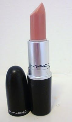 MAC lipstick - Hue. They used this as my lip color under Lots of Laughs gloss and it was perfect. I need some of this.