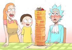 Rick And Morty Comic, Rick And Morty Poster, Iphone Wallpaper Rick And Morty, Rick And Morty Drawing, Rick And Morty Characters, Fluffy Puff, Gravity Falls Comics, Simpsons Art, Wattpad