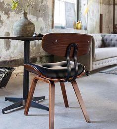 GUIÑO A LOS 50  La silla Blackwood es la interpretación de Dutchbone al clásico asiento de los años 50. Una pieza clásica y elegante que añadirá un toque de clase en casa. Dutchbone | Ventas en Westwing