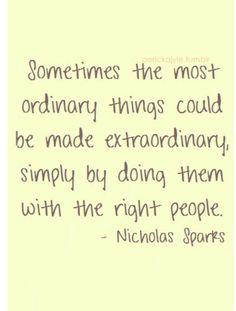 Nicolas Sparks Quote