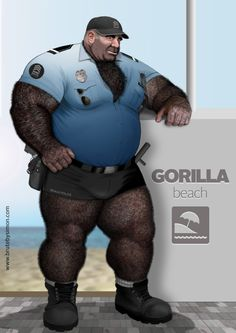 Beach Cop  (Gorilla beach).