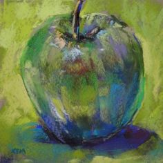 Little Green Apples, painting by artist Karen Margulis