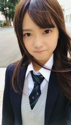 Japanese School Uniform, School Uniform Girls, High School Girls, Asian Cute, Cute Asian Girls, Cute Girls, Japan Girl, Kawaii Girl, Portrait Photo