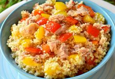 Couscous au Thon et aux Poivrons WW Weight Watchers Snacks, Weight Watchers Vegetarian, Plats Weight Watchers, Weight Watcher Dinners, Weigth Watchers, Beef Recipes, Healthy Recipes, Lose Weight Fast Diet, Healthy Weight