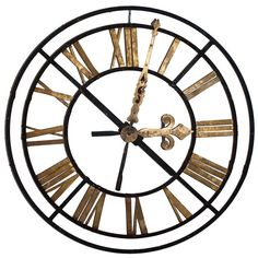 Gilt Clock Face   From a unique collection of antique and modern wall clocks at https://www.1stdibs.com/furniture/wall-decorations/wall-clocks/