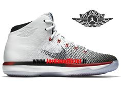reputable site 1d8cb 10a47 Air Jordan 31 XXXI Retro - Chaussures Baskets Offciel Pas Cher Pour Homme  Blanc Noir