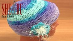 CROCHET FEMALE HAT Tutorial 2 Part 3 of 3. http://sheruknitting.com/sherufashion/crochet-and-knitting-clothes/item/688-crochet-female-hat.html This fast and easy to stitch crochet hat can be made in a few hours as a gift or just like a new handmade piece of work for your wardrobe.