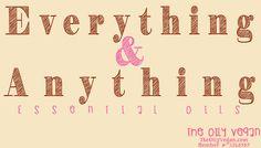 Everything & Anything Essential Oils | TheOilyVegan.com