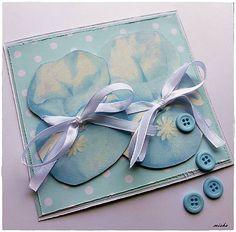 misha_cards / Papučky pre chlapčeka
