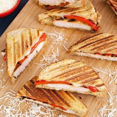 This grilled chicken panini sandwich recipe is ideal for busy weeknights. Greek yogurt marinated chicken makes it super tasty.