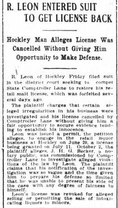 Houston Post 23 Nov 1912 pg 11